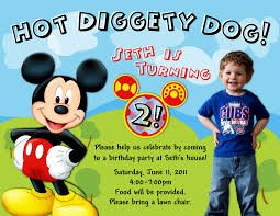 Mickey Mouse Invitation Cards Printable Mickey Mouse Party Ideas Two Sisters Crafting All About Birthday