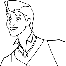 prince phillip and samson man coloring pages wecoloringpage