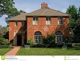 brick house beautiful old brick house stock photos image 4407313