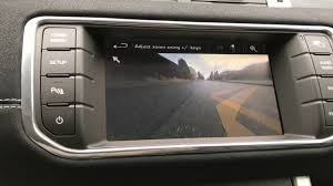 range rover front range rover evoque front camera youtube