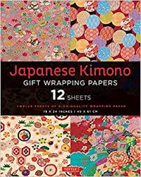 buy wrapping paper japanese kimono gift wrapping papers 12 sheets of high quality 18 x