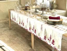 nappe de cuisine rectangulaire nappe cuisine nappe de noel avec neige noal linvosges idees et 22093