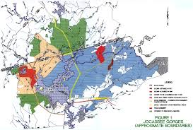 Clemson University Map Jocassee Gorges A Partnership In Conservation