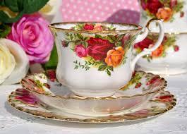 royal albert old country roses teacup trio c 1962