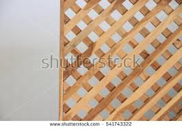 wood lattice wall lattice fence stock images royalty free images vectors