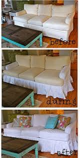 Slipcover For Leather Sofa by Best 25 Sofa Slipcovers Ideas On Pinterest Slipcovers Chair