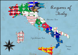Italy Region Map by Qgis Using Svg From Wikipedia To Fill Polygon Geographic