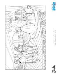 barbie and her glitter dresses coloring pages hellokids com