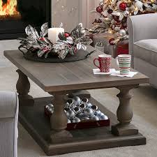 Christmas Decoration For Living Room Table by Open Plan Living Space Holiday Decor Ideas