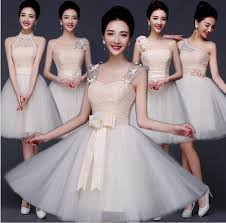 2015 bridesmaid dresses under 50 short chiffon candy tutu sister
