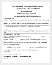 Business Sample Resume by 46 Best Resume Templates To Download Free U0026 Premium Templates