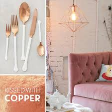 Design For Copper Flatware Ideas Inside Design Kissed With Copper Pear Tree