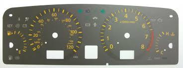 nissan almera dashboard symbols nissan elgrand kmh to mph speedo meter clocks dials
