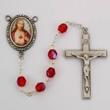 sacred heart rosary sacred heart rosary the catholic company