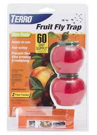 terro fruit fly trap looks like an apple