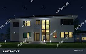 Home Design Stock Images by Picture Modern Architecture Modern House Design Stock Illustration