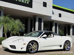 2003 ferrari 360 spider 6 speed manual