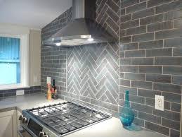 Brick Tile Backsplash Kitchen Installation Stories A Brick Herringbone Backsplash Fireclay