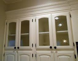 kitchen cabinet stained glass panel insert