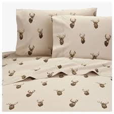 Browning Wall Decor Browning Whitetails 4 Pc Full Size Sheet Set Hunting Lodge Cabin