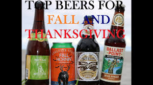 how to best beers for fall and thanksgiving