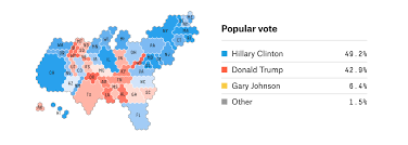 Cartogram Map Making Election Maps Popular Again Lisa Charlotte Rost