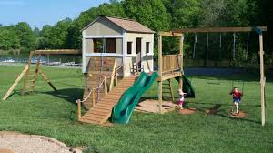 Backyard Swing Plans by Outdoor Playhouse Plans Ana White Backyard Decorations By Bodog