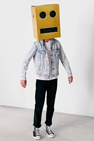 giant robot block head costume the green head