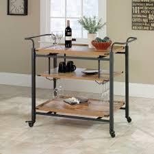 Walmart Metal Shelves by Better Homes And Gardens Rustic Country Bar Cart Antiqued Black