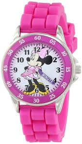amazon disney kids u0027 mn1157 minnie mouse pink watch