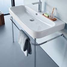 Avenir Bathroom Accessories by Happy D 2 Wall Hung Basin By Duravit Just Bathroomware
