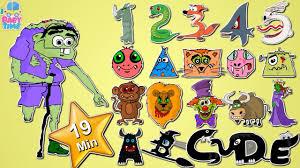scary abc scary alphabets scary shapes scary numbers u0026 many