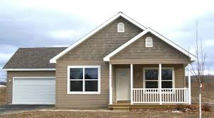 exterior one story house front view house front porch house front
