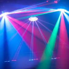 eliminator led color changing translucent dj effect