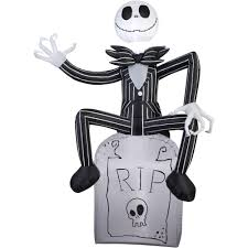 Halloween Jack Skeleton by Gemmy Airblown Inflatable 5 U0027 X 3 5 U0027 Nightmare Before Christmas