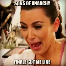 Sons Of Anarchy Meme - sons of anarchy meme finale got me like on bingememe