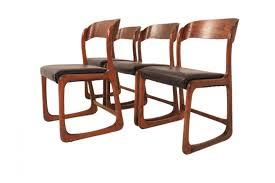 Esszimmerst Le Nl Französische Mid Century Esszimmerstühle Von Baumann 4er Set Bei