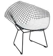 Dwell Introduces The Harry Bertoialike Wire Chair Retro To Go - Design classic chair