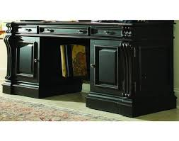 Hooker Credenza Telluride Computer Credenza In Distressed Black Finish By Hooker