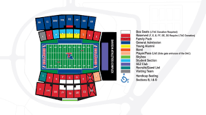Fresno State Parking Map by Latechsports Com Louisiana Tech Athletics Facilities