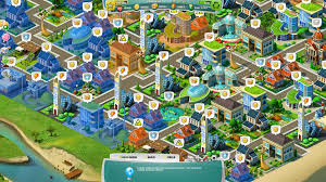 build a town city simulation plan it green game an online building