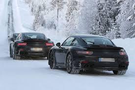 porsche 911 winter 911 turbo pictures 2015 porsche 911 winter testing