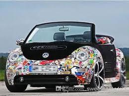 Diy Car Decor 2017 Lotfashion Diy Graffiti Car Sticker Car Wrapping Auto