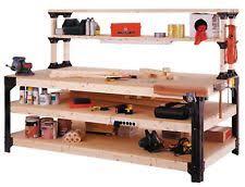 Workbench With Light Workbench With Work Light Garage Bench Home Workshop Craftsman