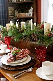 Christmas Modern Table Decoration by Appealing Rustic Christmas Table Centerpieces 22 About Remodel