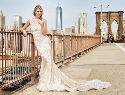 whitney port wearing a stunning pronovias wedding dress