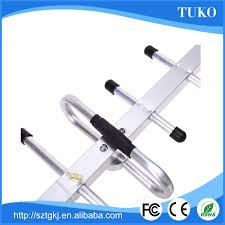 18db n conector uhf de alto ganho antena direcional yagi antena de