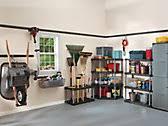 Rubbermaid Plastic Shelving by Garage Organization U0026 Storage Systems