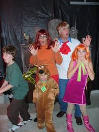 Scooby Doo Halloween Costumes Family Scooby Doo U0026 Friends Funny Group Costume Idea Funny Group