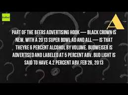 how much alcohol does bud light have how much alcohol is in bud and bud light youtube
